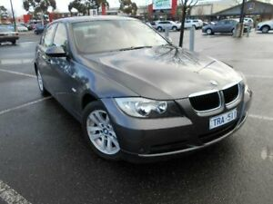 2005 BMW 320i E90 Grey 6 Speed Auto Steptronic Sedan Maidstone Maribyrnong Area Preview