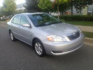 2006 TOYOTA COROLLA LE,VERY CLEAN !