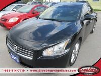 2010 Nissan Maxima LOADED 'SPORTY' 5 PASSENGER LEATHER.. HEATED