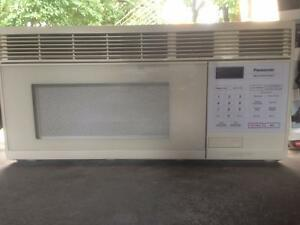 PANASONIC over the range microwave
