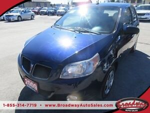 2009 Pontiac Wave WELL EQUIPPED G3 - WAVE MODEL 5 PASSENGER CD/A