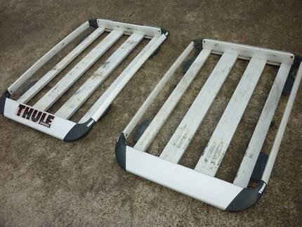THULE Aluminium Vehicle Roof Rack Cargo Carrier Basket