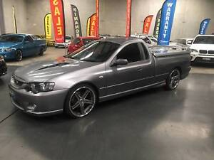 2004 Ford Falcon XR8 MANUAL UTE  FAST FINANCE OR RENT TO OWN Arundel Gold Coast City Preview
