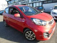 2013 Kia Picanto 1.0 City - Red- 12 months PLATINUM WARRANTY!