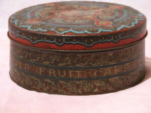 Vintage Collectable Fruit Cake tin Peterborough Peterborough Area image 1