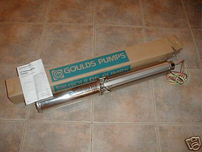 New Goulds 12 Hp 10 Gpm 3 Wire Brass Water Well Pump