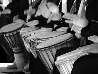 African Drumming Classes in Dartmouth Studio