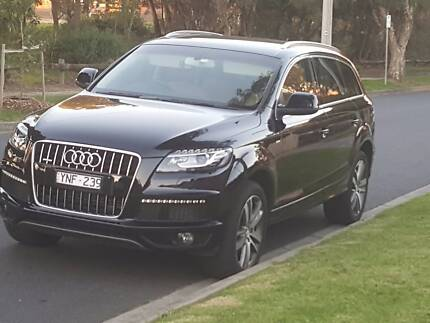 MY12 2011 Audi Q7 Black with Beige Interior