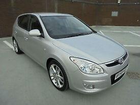 (58) 2008 Hyundai i30 1.6CRDi Premium Turbo Diesel Leather Trim