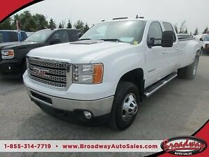 2011 GMC Sierra 3500 1-TON DIESEL WORK READY SLT MODEL 5 PASSENG