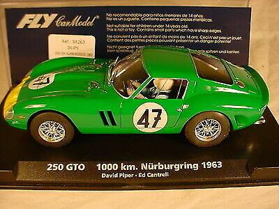 Fly 88263 1:32 250 GTO 1963 1000 km Nurburgring Piper-Cantrell #47 Slot Car