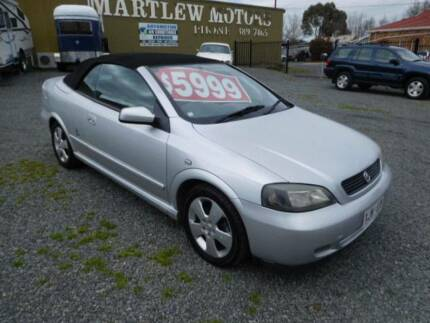 2005 Holden Astra Convertible 2.2 manual bertone edition Woodside Adelaide Hills Preview