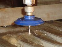 Waterjet cutting service for aluminum, marble, wood, glass, stee