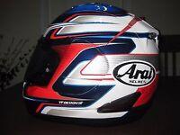Arai RX7 Gp Dani Pedrosa helmet boxed size medium
