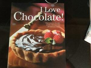 I Love Chocolate cookbook