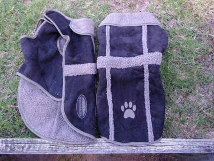 Assorted dog coats and jumper