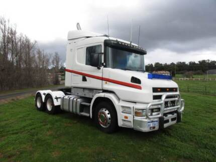 SCANIA P/MOVER 124G R/T RATED. $29,500 inc GST