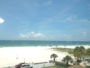 St Pete Beach Front Fully Furnished Condo- Spectacular Gulf View