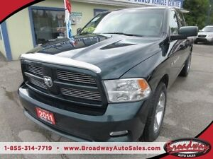 2011 Dodge Ram 1500 POWER EQUIPPED SLT MODEL 5 PASSENGER 5.7L -