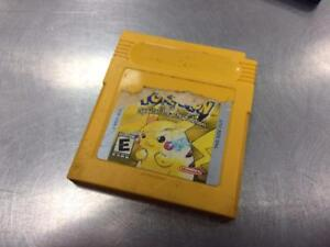 Jeu video POKEMON Yellow Pikachu Edition   #F025063