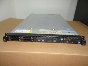 IBM X3550 M3 SERVER 2X6 CORE 3.46GHz X5690 144GB-RAM 8X600GB SAS RAID 12 CORES