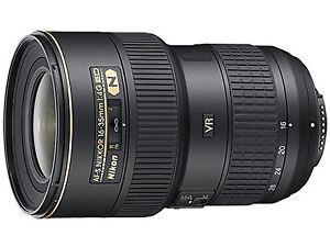 Nikon 16-35mm f4 G VR AF-S Lens