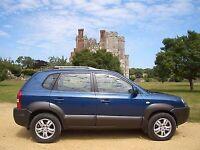 Hyundai 4x4 Tucson 2006 low mileage