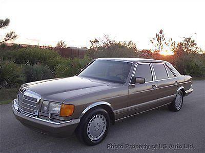 Mercedes Benz 420 Sel Ebay