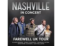 2 tickets For Nashville In Concert At The Leeds Arena April 15th Up Close And Personal Package