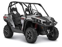 2015 Can-Am Commander XT 1000 Brushed Aluminum