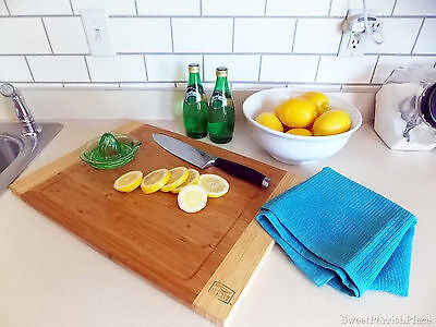 Use a stencil or painters tape to create straight painted faux grout lines.(image: Sweet Parrish Place)