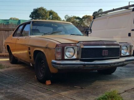 1975 Holden Monaro HJ GTS Gold Automatic