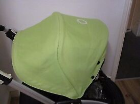 Bugaboo bee plus with brand NEW canopy(light green )