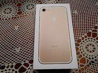 iPhone 7 , 256GB , Gold , on O2