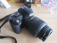 Nikon D3100 Digital SLR Camera with 18-55mm VR Lens Kit BOXED WITH EXTRAS