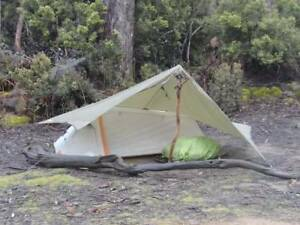 Tent for hiking 1 person + tent fly Mackay City Preview
