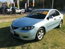 2008 Mazda 3 BK MY06 Upgrade Neo Blue 5 Speed Manual Sedan Clontarf Redcliffe Area image 2
