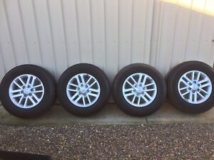 TOYOTA HILUX SR5 ALLOY WHEELS AND GREAT TYRES (rims are new) Angle Vale Playford Area Preview