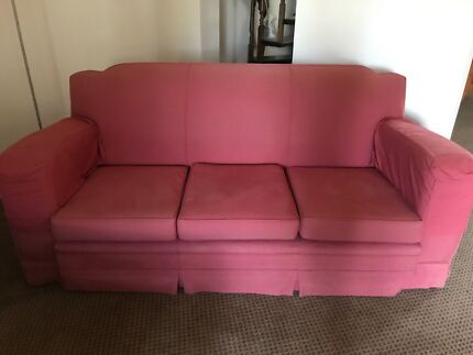Super Comfy Couches super comfy red velvet couch   sofas   gumtree australia eastern
