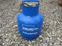 Calor butane 4.5kg full gas bottle for caravan camping