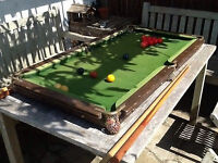 WANTED CHEAP POOL OR SNOOKER TABLE IN THE GRANTHAM AREA