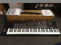 KORG Pa3x Pro 76 Keys With Upgraded 256MB Ram. Including Case, Jacks, Stand and More!!!