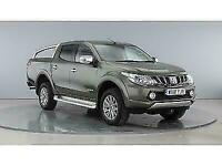 2018 MITSUBISHI L200 DI-D 178 4WD WARRIOR DOUBLE CAB WITH ROLL'N'LOCK TOP (1517