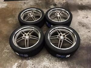 """19"""" Privat Wheels 5x112 with All Season Tires 255/35R19 (Audi, Volkswagen, Mercedes) Calgary Alberta Preview"""