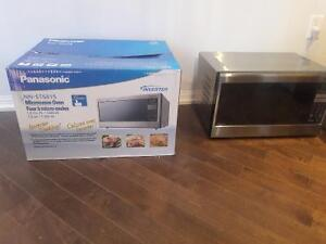 Gently used Panasonic inverter microwave.  Tonight only!