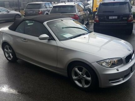 2009 BMW 120i E88 Silver 6 Speed Manual Convertible