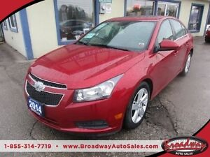 2014 Chevrolet Cruze TURBO DIESEL LOADED LT MODEL 5 PASSENGER 2.