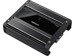 Kenwood Excelon X500-1 Mono subwoofer amplifier — 500 watts RMS