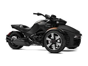 2018 Can-Am Spyder F3-S 6-speed semi-automatic with reverse (SE6