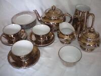 Tea set- Royal Worcester Silver Lustre